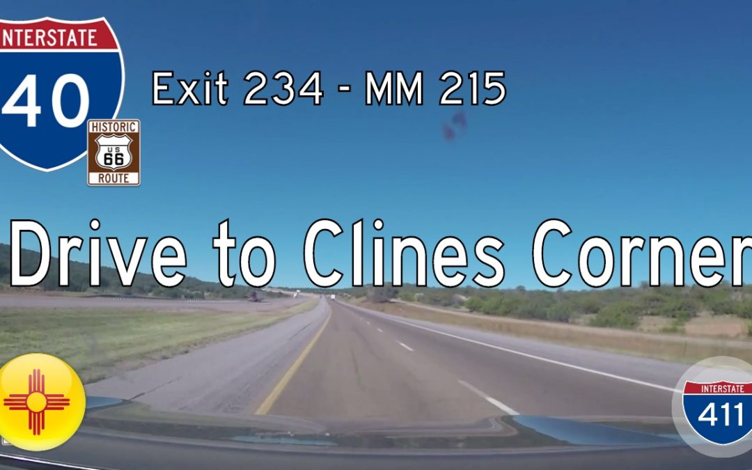 Interstate 40 – Mile 234 – Mile 215 – New Mexico