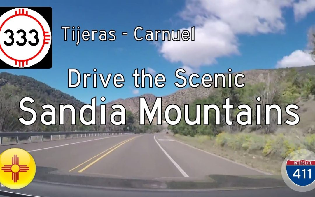 New Meixco Highway 333 – Tijeras to Carnuel