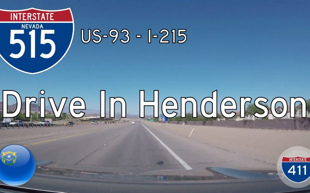 Interstate 515 – Henderson to Las Vegas – Nevada