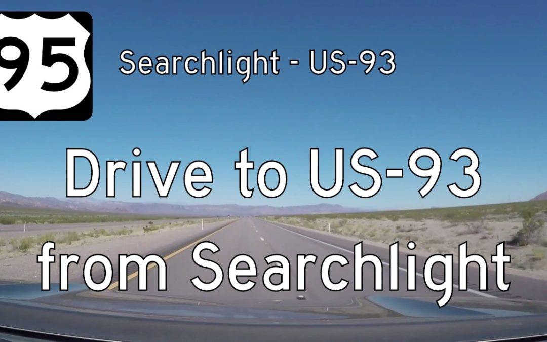 U.S. Highway 95 – Searchlight to Boulder City – Nevada