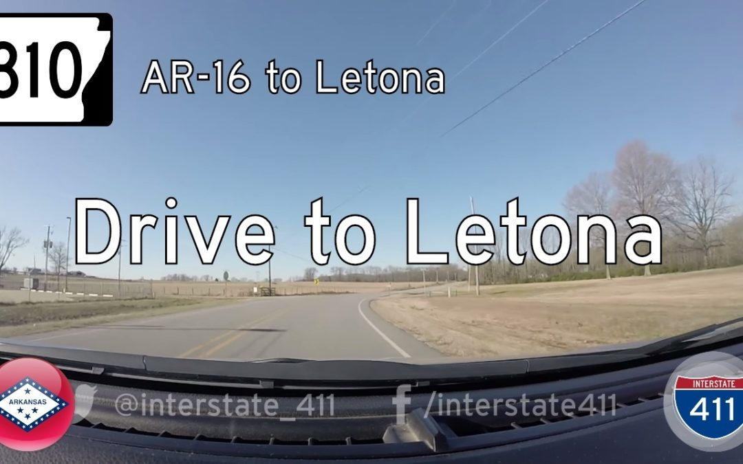 Arkansas Highway 310 – AR16 – Letona