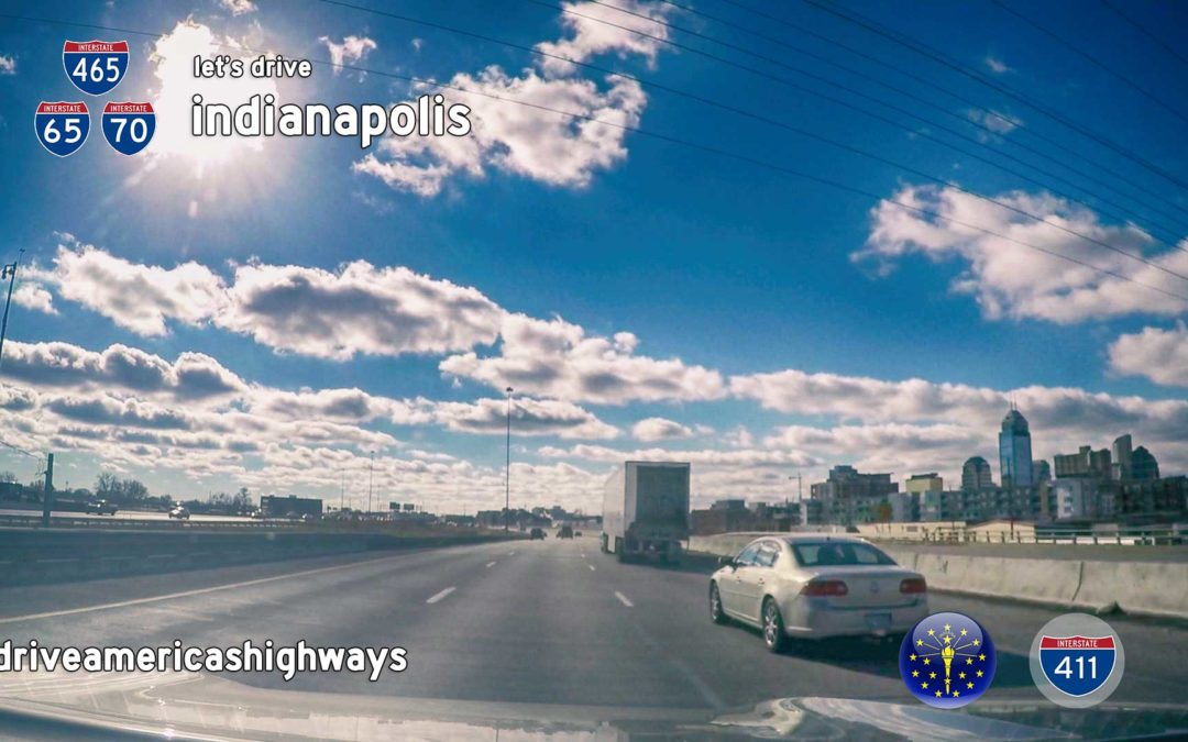 Indianapolis Interstates [ I-70W | I-65S | I-465W ] – Indiana