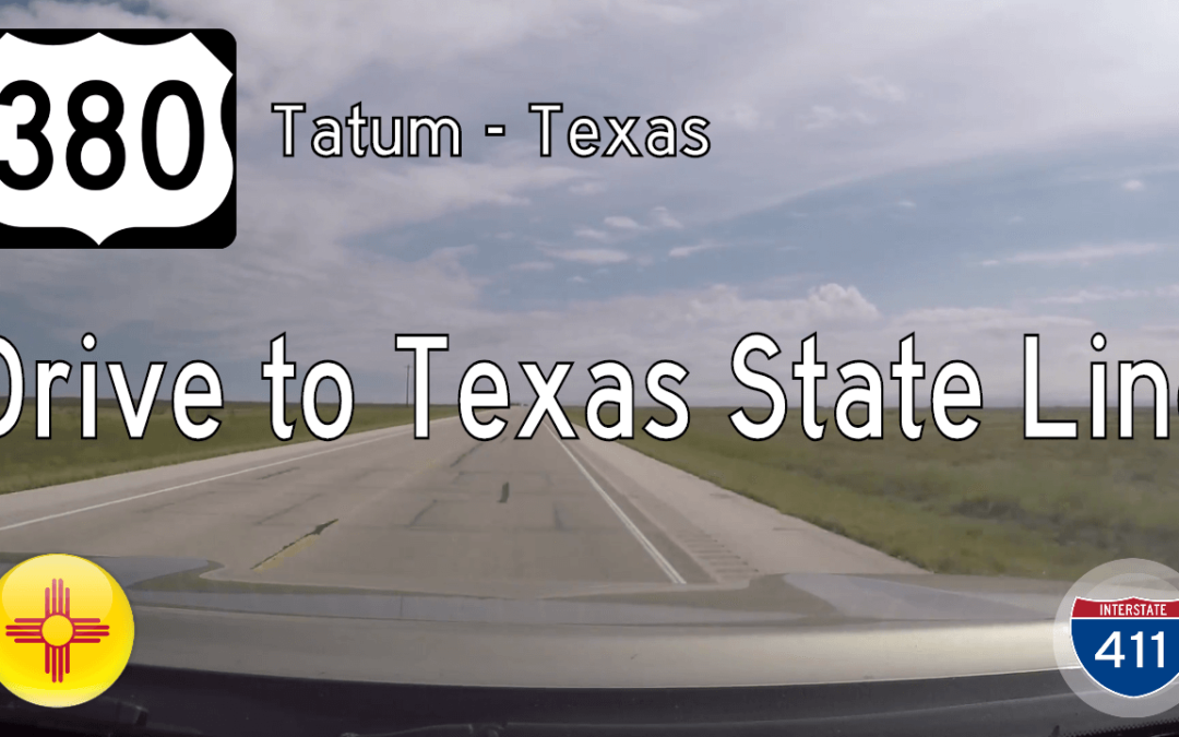 U.S. Highway 380 – Tatum to Texas State Line – New Mexico