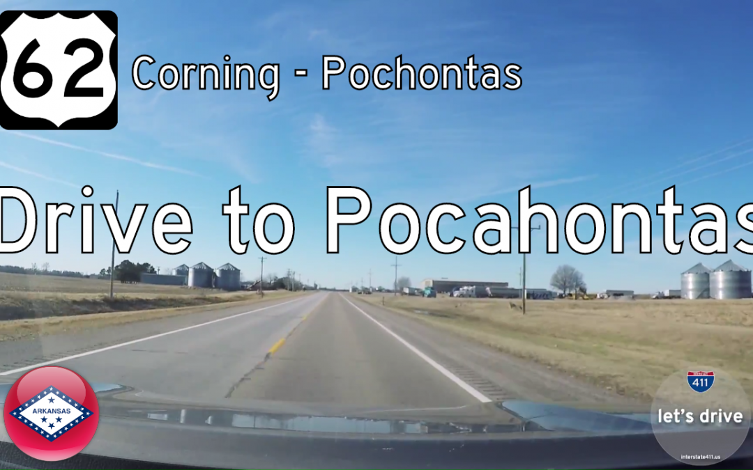U.S. Highway 62 – Corning to Pocahontas – Arkansas