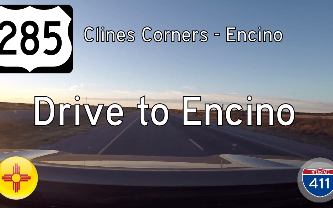 U.S. Highway 285 – Clines Corners to Encino – New Mexico