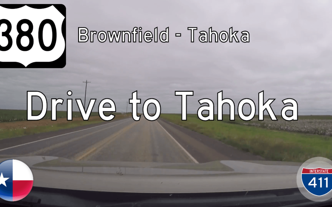 U.S. Highway 380 – Brownfield to Tahoka – Texas