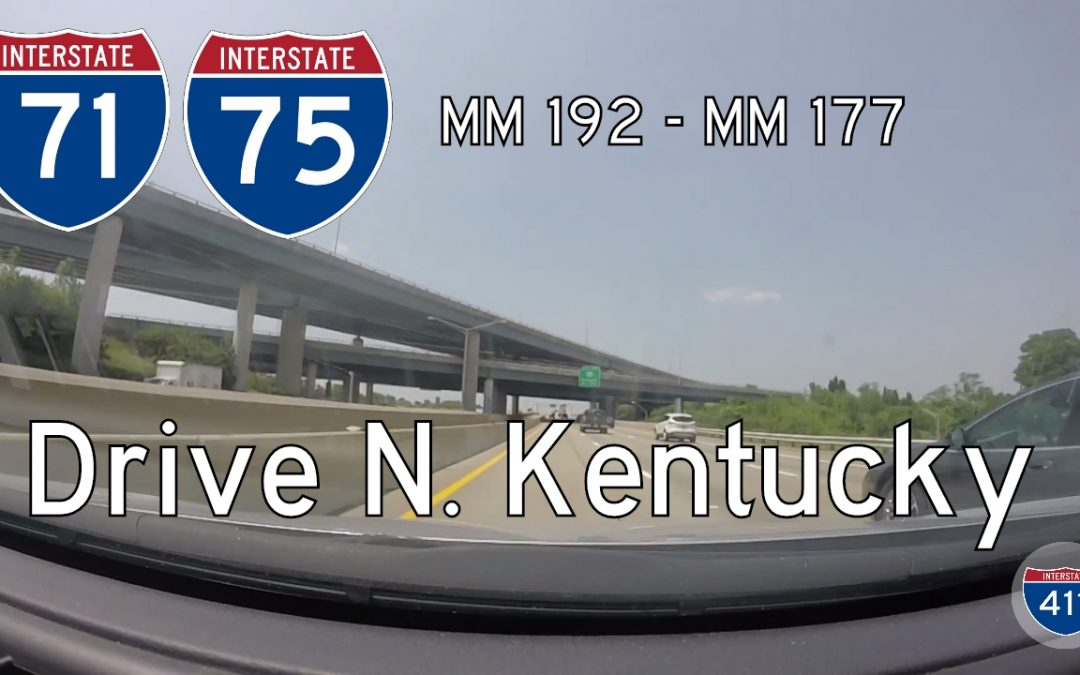 Interstate 71 / Interstate 75 – Mile 192 – Mile 177 – Kentucky