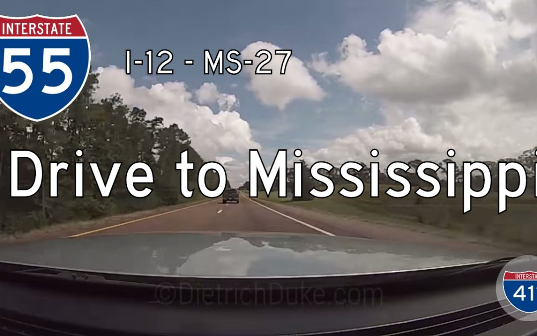 Interstate 55 – LA Mile 23 – MS Mile 72 – Louisiana / Mississippi