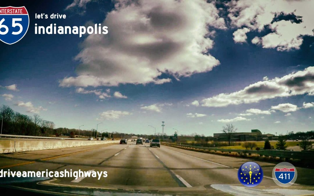 Interstate 65 in Indianapolis – Indiana