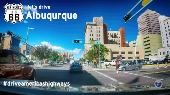 Historic Route 66 – Central Ave SE – Albuquerque – New Mexico