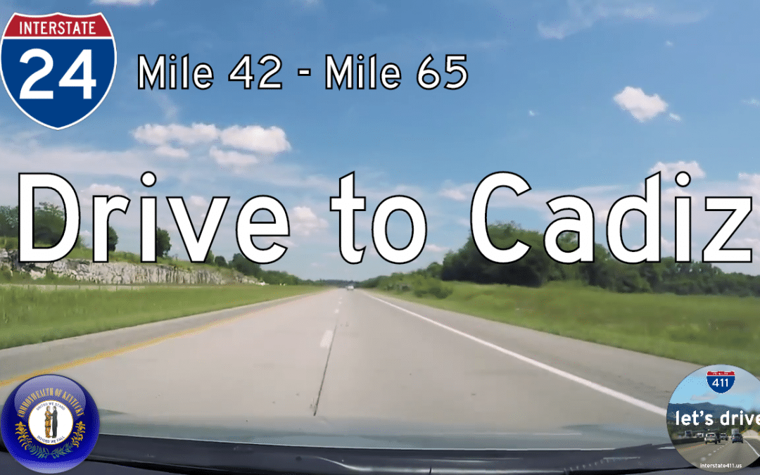 Interstate 24 – Mile 42 to Mile 65 – Kentucky