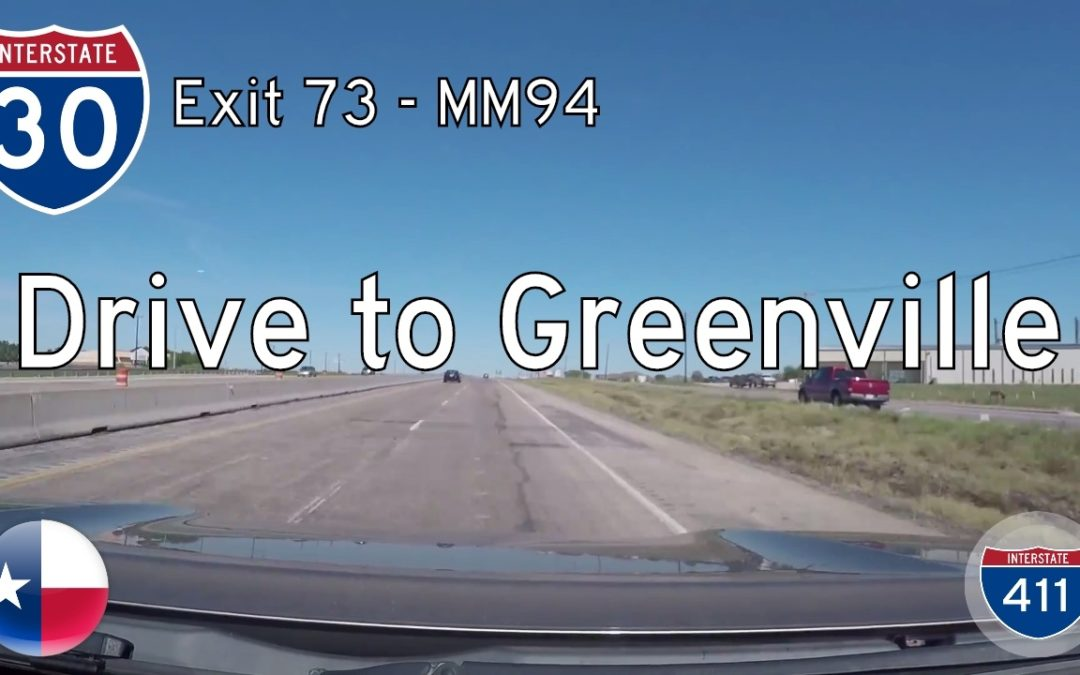 Interstate 30 – Fate to Greenville – Texas
