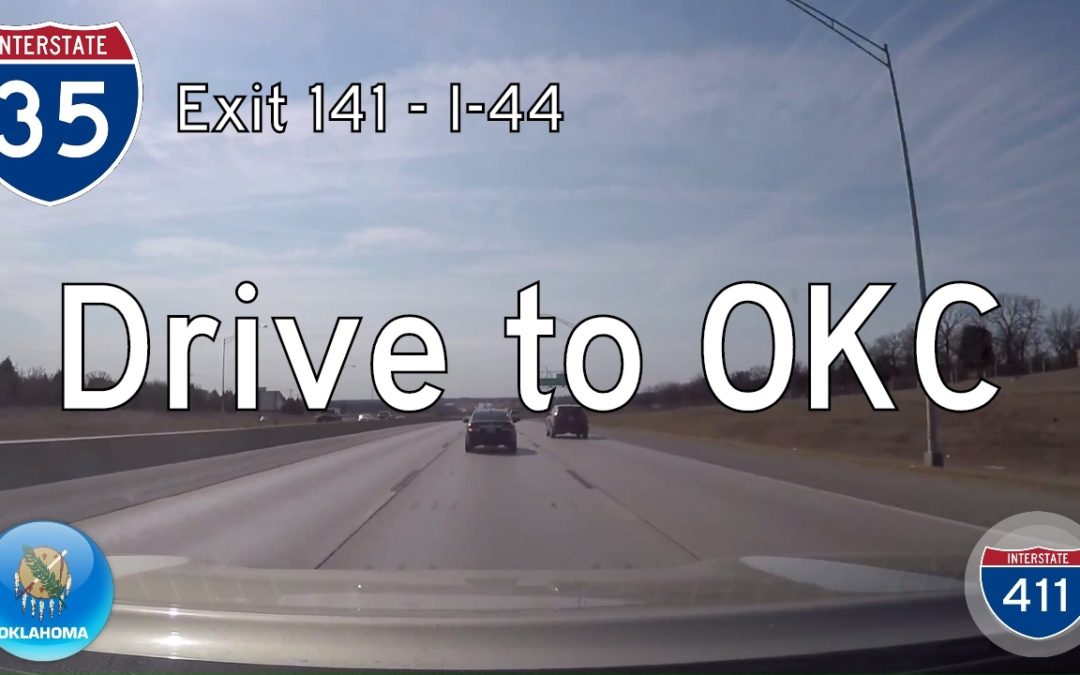 Interstate 35 – Mile 141 – Mile 133 – Oklahoma
