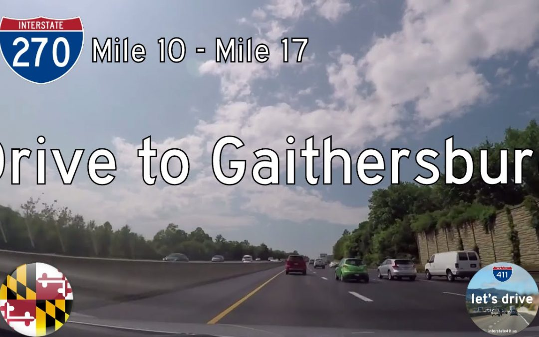 Interstate 270 – Gaithersburg to Germantown – Maryland