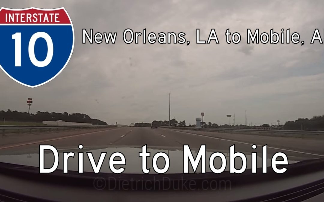 Interstate 10 – LA Mile 267 – AL Mile 16 – Louisiana / Alabama