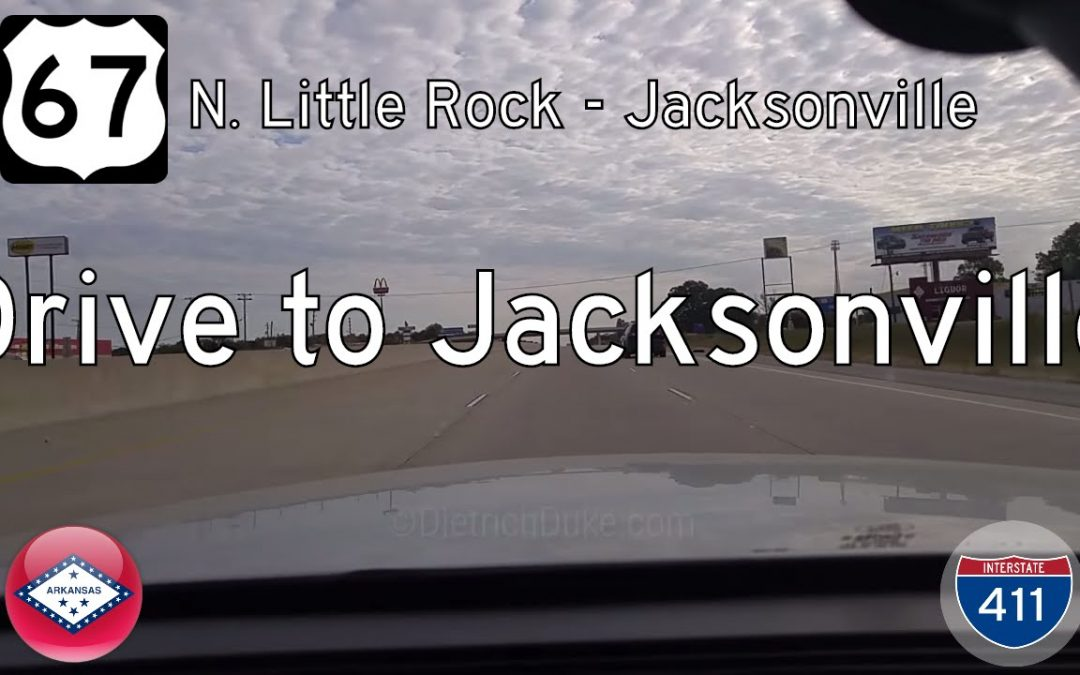 US Highway 67 – N Little Rock – Jacksonville – Arkansas