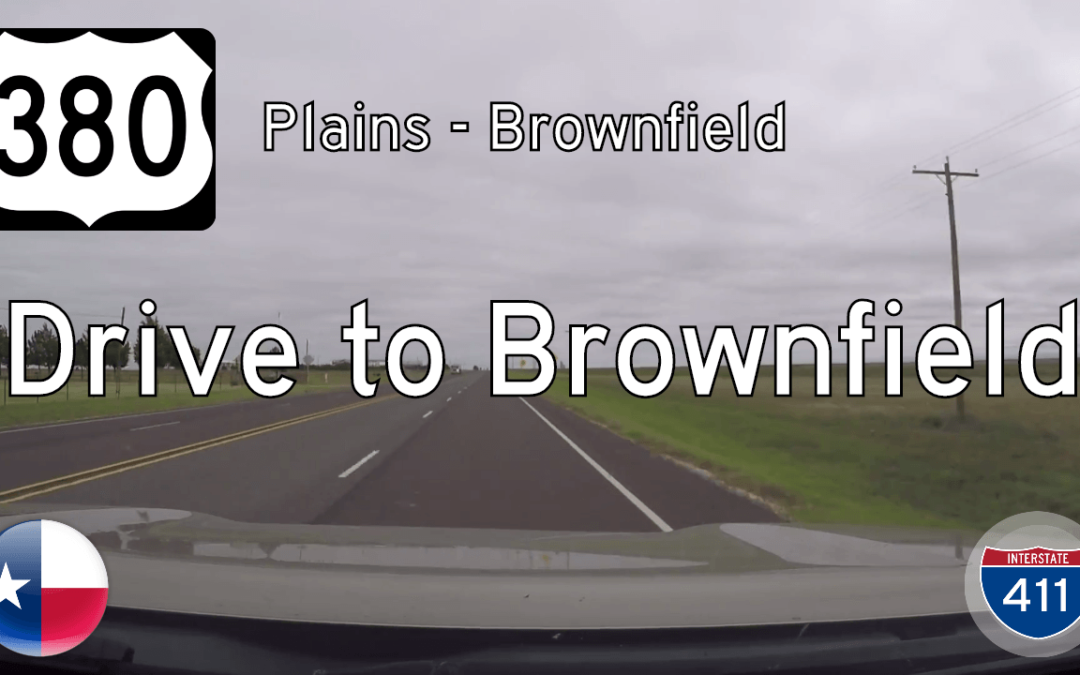 U.S. Highway 380 – Plains to Brownfield – Texas
