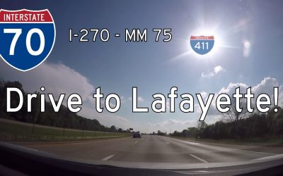 Interstate 70 – Columbus to Lafayette – Ohio