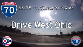 Interstate 70 – Mile 75 – Mile 70 – Ohio