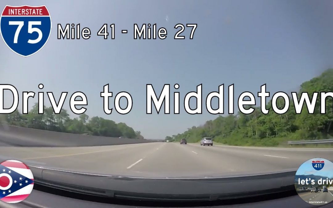 Interstate 75 – Miamisburg to Middletown – Ohio