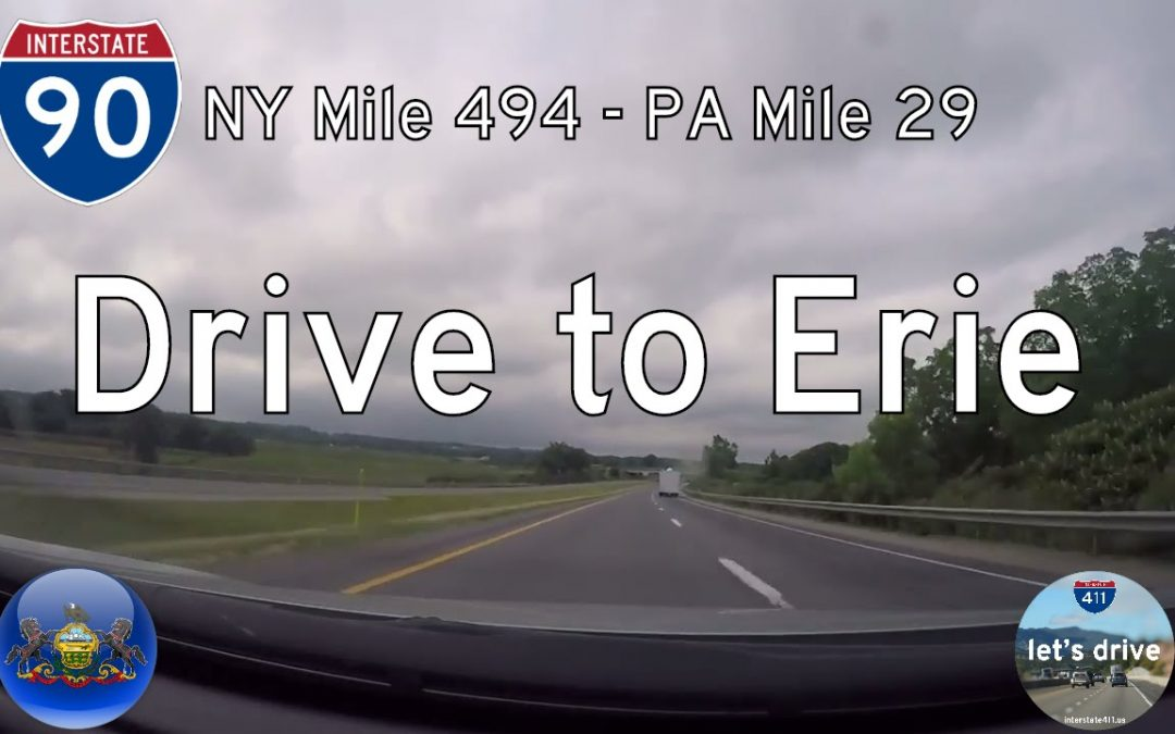 Interstate 90 – Ripley New York to Erie Pennsylvania