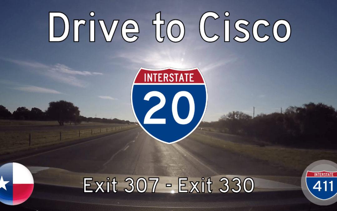 Interstate 20 – Mile 307 – Mile 330 – Texas