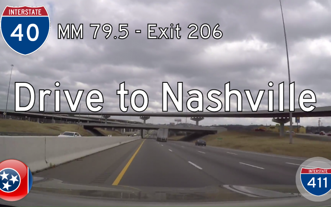 Interstate 40 – Jackson to Nashville – Tennessee