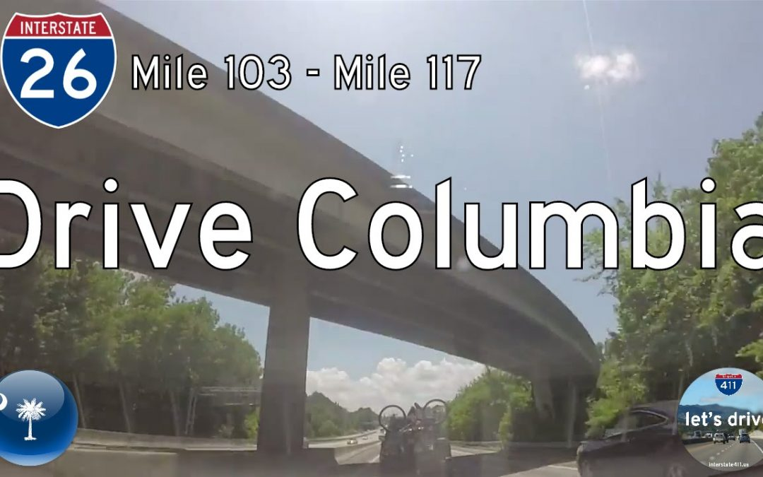 Interstate 26 – Mile 103 – Mile 117 – South Carolina