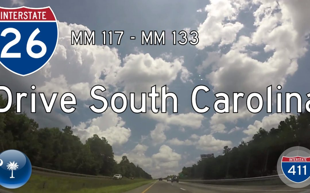 Interstate 26 – Mile 117 – Mile 133 – South Carolina