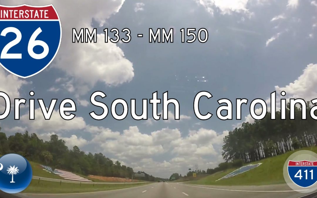 Interstate 26 – Mile 133 – Mile 150 – South Carolina