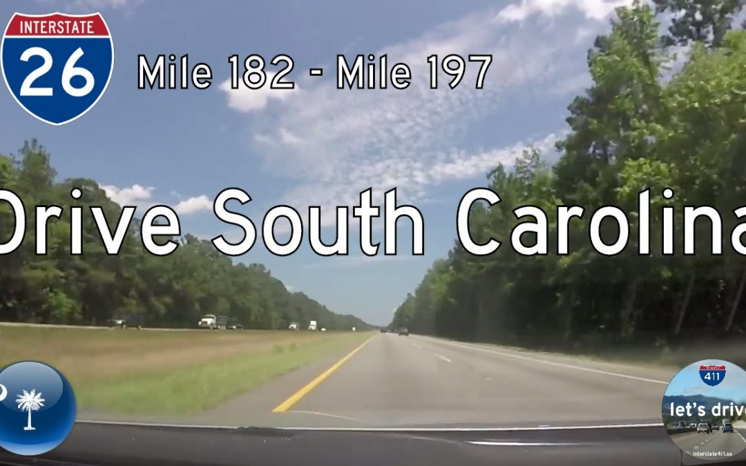 Interstate 26 – Mile 182 – Mile 197 – South Carolina