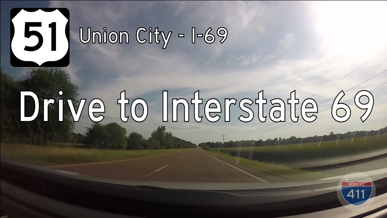 US Highway 51 - Union City - Troy - Tennessee