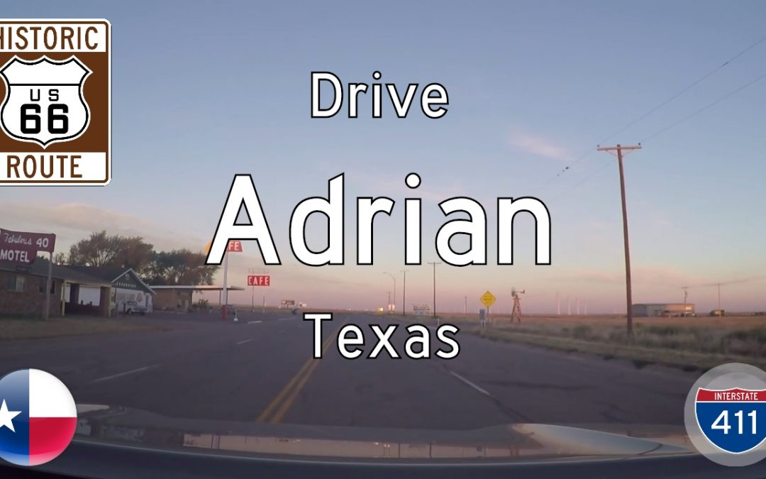 Historic Route 66 – Adrian – Texas