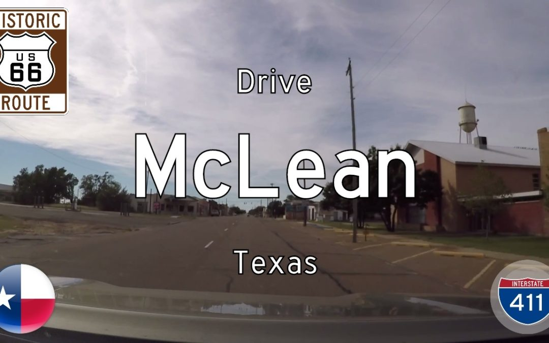 Historic Route 66 – McLean – Texas