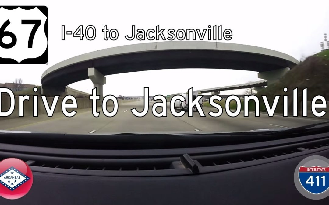 U.S. Highway 67 – North Little Rock to Jacksonville – Arkansas