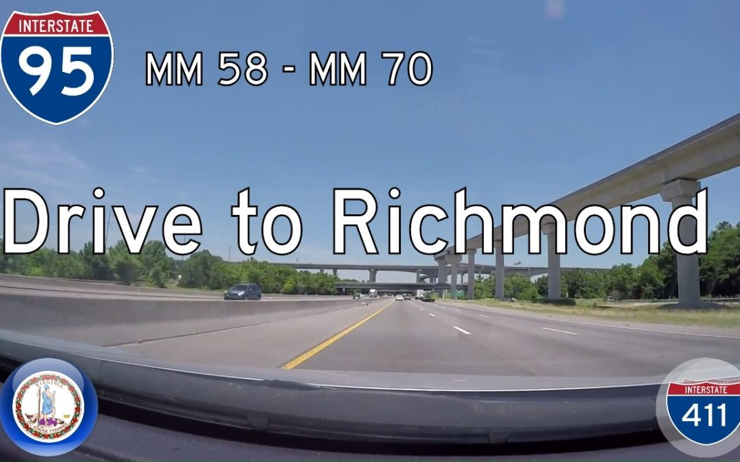 Interstate 95 – Mile 58 – Mile 70 – Virginia