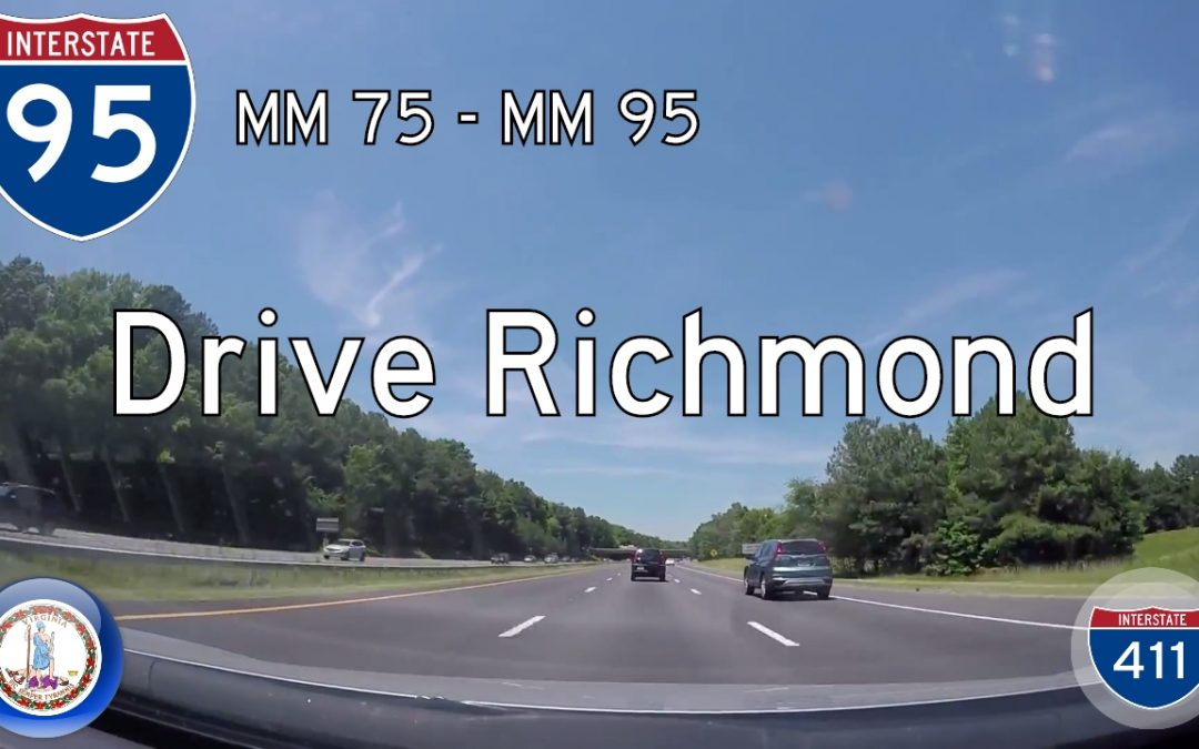Interstate 95 – Mile 75 – Mile 95 – Virginia
