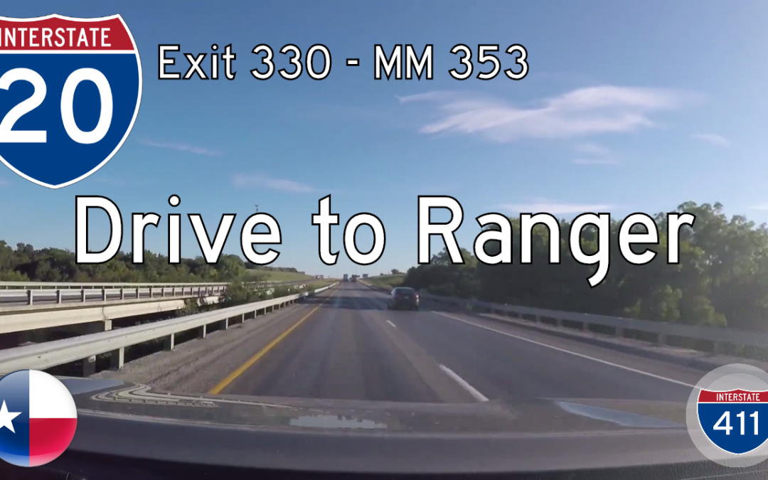 Interstate 20 – Cisco to Ranger – Texas