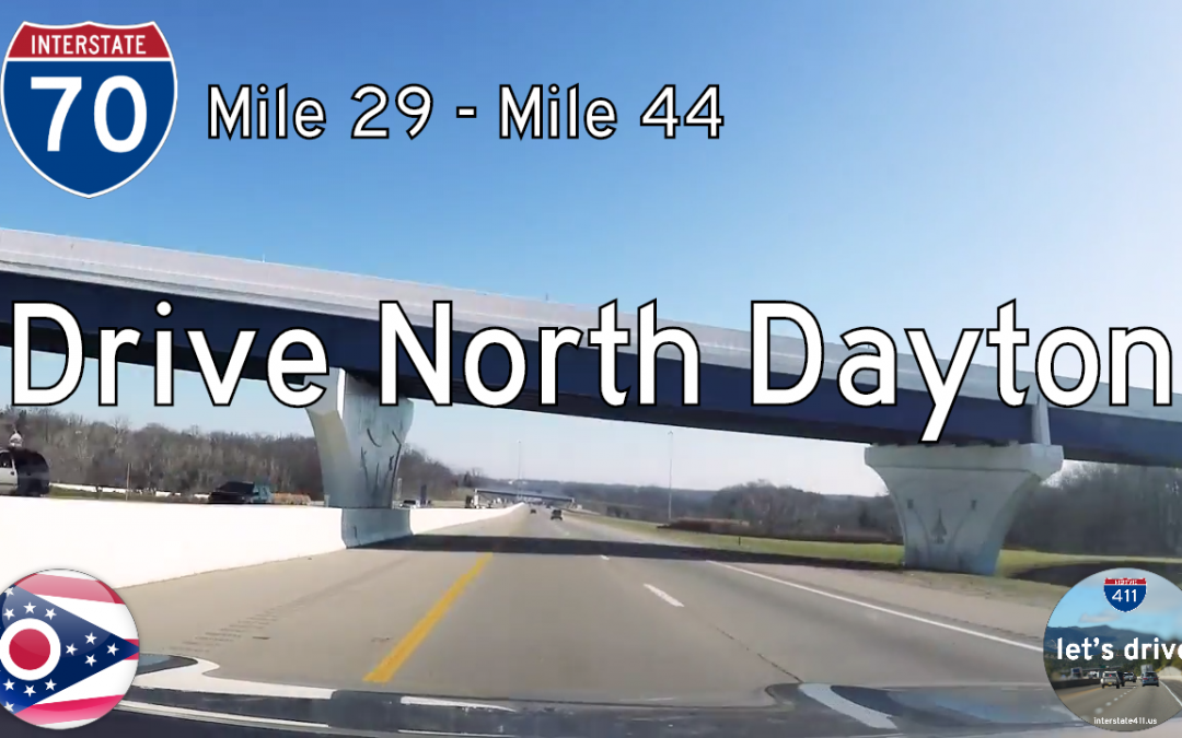 Interstate 70 – Englewood to Fairborn – Ohio